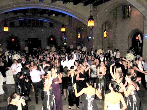 Full dance floor at the Riverside Church