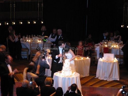 Cake Cutting at Gotham Hall
