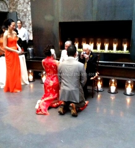 Chinese wedding Tea Ceremony at the Foundry LIC