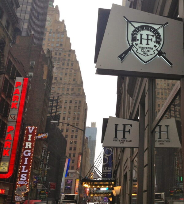 Hunt fish club nyc for Hunt and fish club