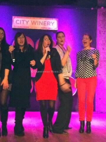 Karaoke at City Winery!
