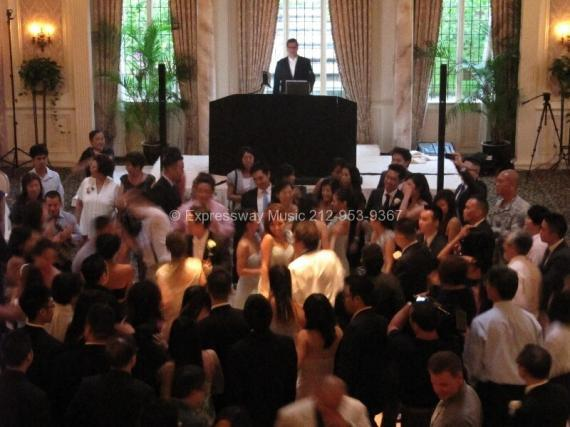Pleasantdale Chateau full dance floor with DJ