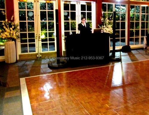 Central Park Boathouse Wedding DJ