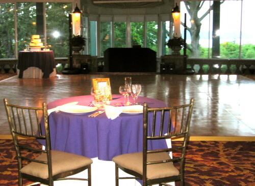 wedding reception room ny