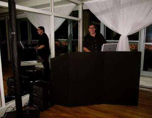 DJ Dave Swirsky at Battery Gardens