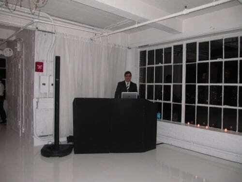 DJ Dave Swirsky at Studio 450 NYC