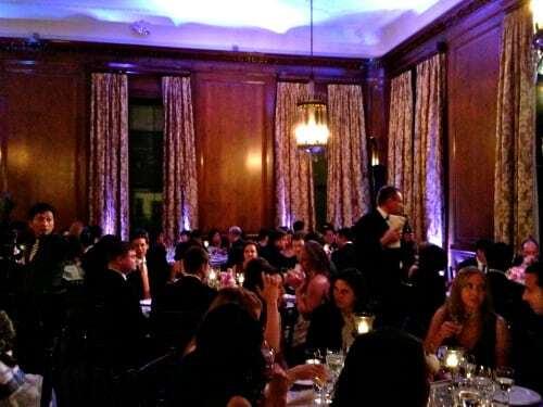 Wedding Dinner at Harold Pratt House