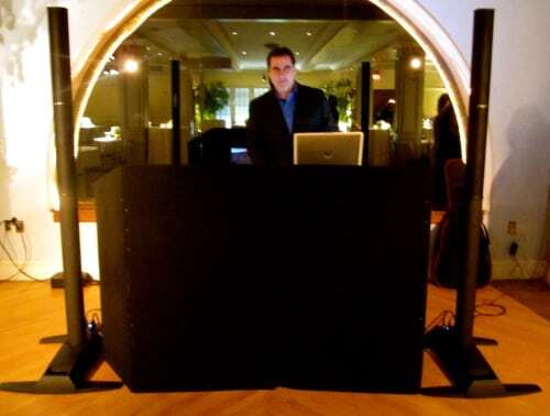 DJ Dave Swirsky at the Manhattan Penthouse