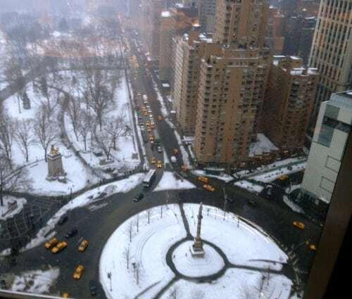 Mandarin Oriental Hotel NYC dj