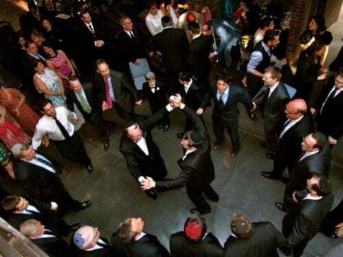 Jewish Hora at the Foundry Long Island City NY
