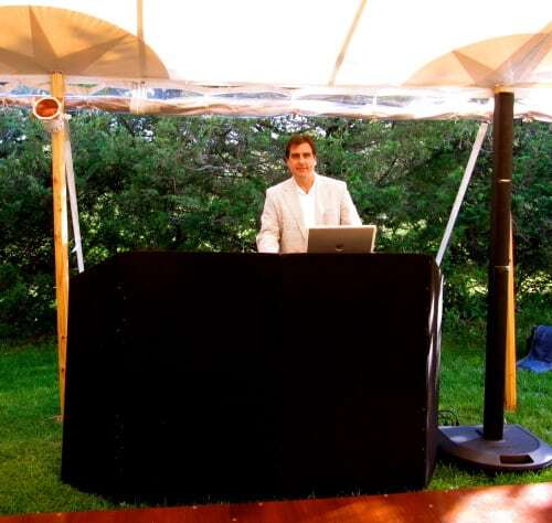 DJ Dave Swirsky in the Hamptons