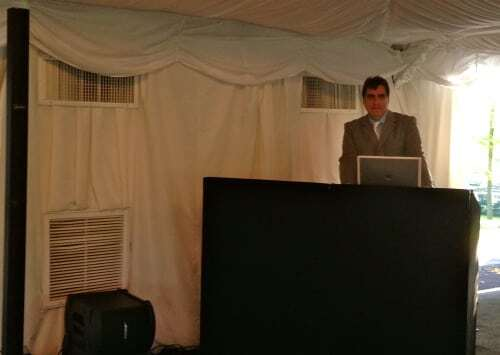 DJ Dave Swirsky NYC at City Island Wedding