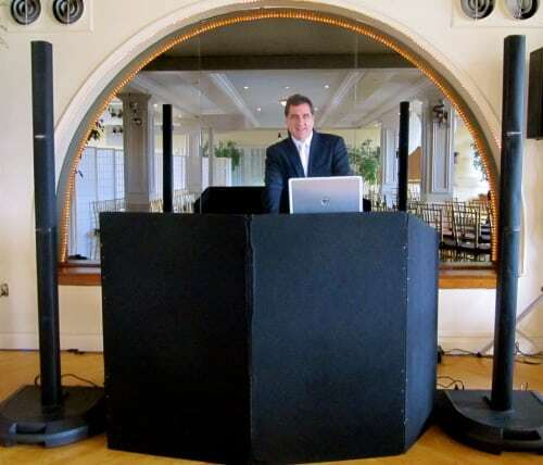 DJ Dave Swirsky at Manhattan Penthouse