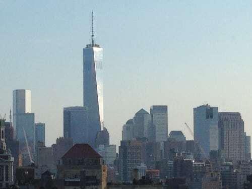 Manhattan Penthouse view taken during wedding with dj dave swirsky