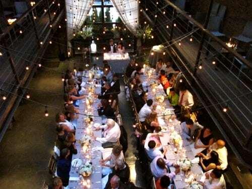 Foundry Wedding Dinner