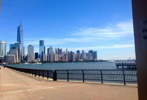 NJ Hyatt View of Manhattan