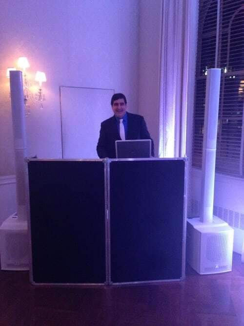 DJ Dave Swirsky at Harold Pratt House