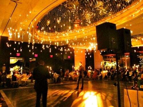 Mandarin Oriental Wedding dj