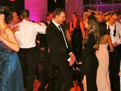 Dancing at the Mandarin Oriental Hotel Columbus Circle for Wedding