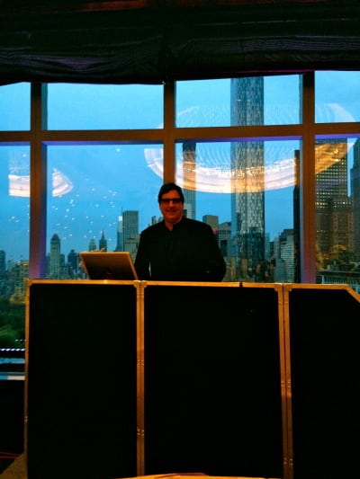 Mandarin Oriental Hotel DJ Dave Swirksy