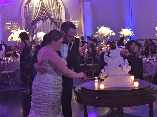 Cake Cutting The Grove Wedding NJ