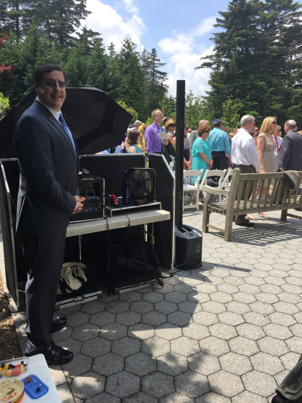 Bronx Botanic Garden Ceremony with DJ