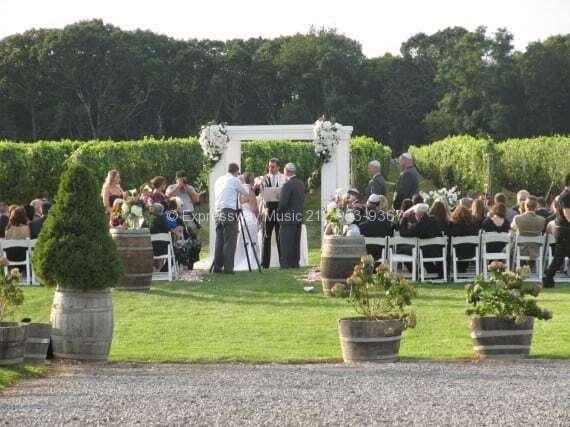 long island wedding djs
