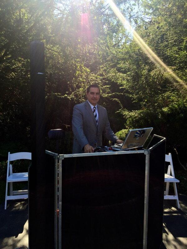 DJ Dave Swirsky at Tappan Hill