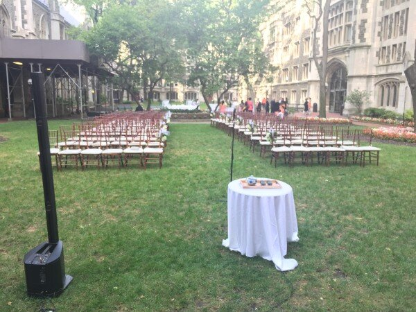 Union theological Seminary courtyard