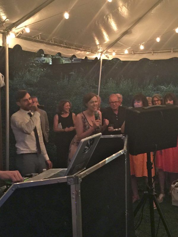 karaoke westchester wedding