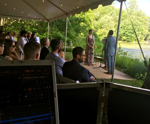 Lakefront Wedding Westchester county