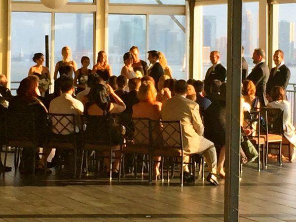 Sunset Terrace Wedding