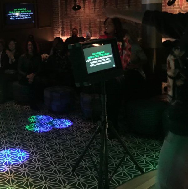 Fishbowl karaoke dj event