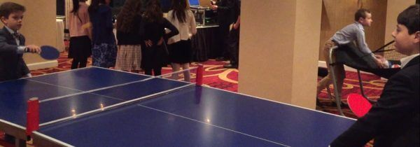 Kids having Fun with Ping Pong