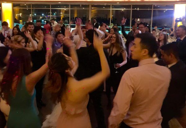 DJ Dave kept guests Dancing entire wedding