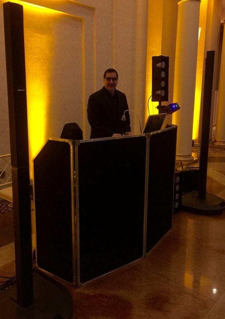 DJ Set Up at Glen Island
