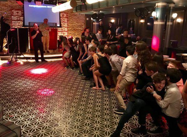 Bar Mitzvah game at Dream Hotel Mitzvah