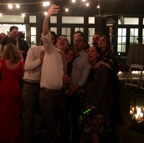 Last Selfie of Wedding!
