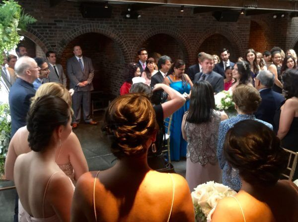 Beautiful bride at The Foundry