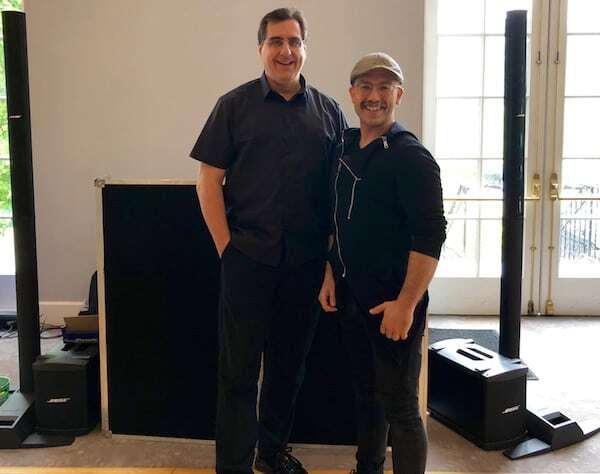 photo of DJ Dave Swirsky and Expressway Music Emcee Alberto