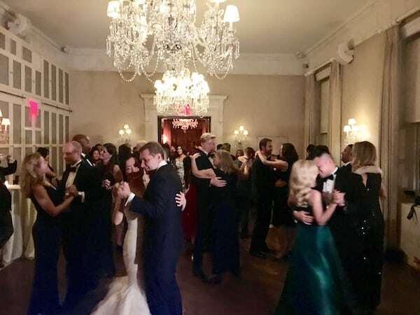 Harold Pratt House Wedding full dance floor
