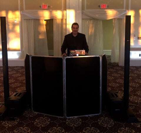 DJ Dave Swirsky and DJ Set up