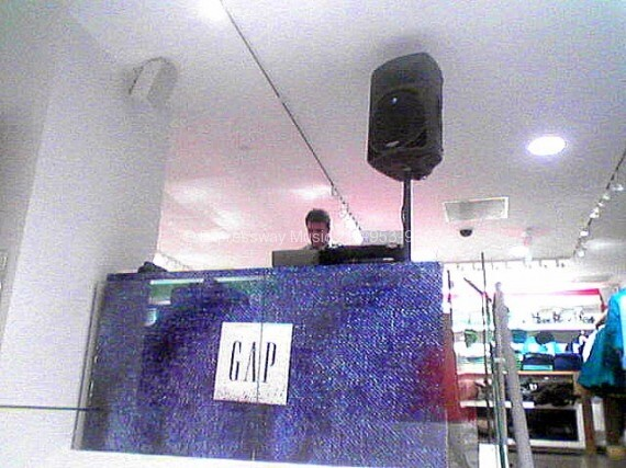 Expressway Music dj Dan at the Gap Manhattan