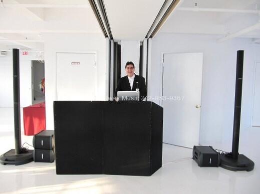 DJ Dave Swirsky at Studio 450