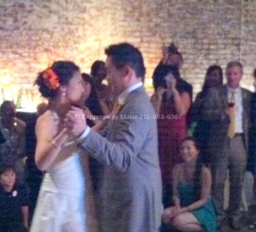 Bride and Groom First dance at the Foundry