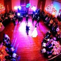 wedding over shot