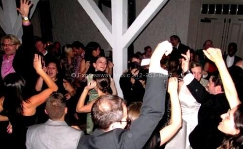 Full Dance Floor at Stone Mill Wedding