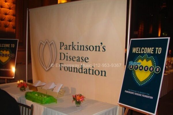 Parkinson's Disease Foundation Sign