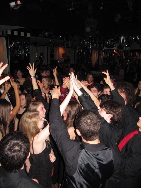 Lexi's friends dancing the night away!