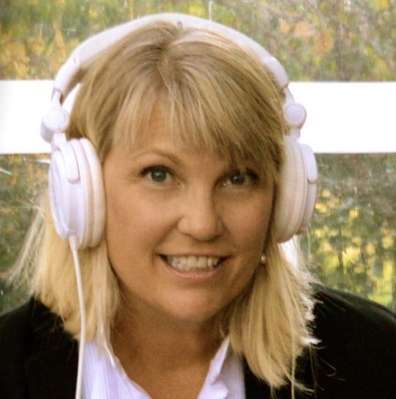 DJ Jeanine with Headphones